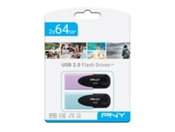 Pendrive PNY Twin Pack 2x64 GB