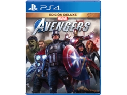 Preventa Juego PS4 Marvel's Avengers (Deluxe Edition)