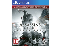 Juego PS4 Assassin's Creed III (Remastered - M18)