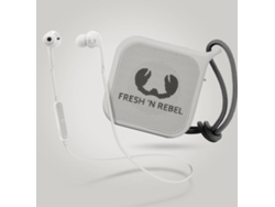 Auriculares Bluetooth FRESH & REBEL 8GIFT05CL (In ear - Micrófono - Blanco)