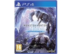 Preventa Juego PS4 Monster Hunter World Edition