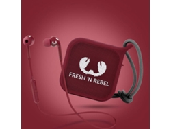 Auriculares Bluetooth FRESH & REBEL 8GIFT05RU (In ear - Micrófono - Noise canceling - Rojo)