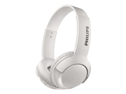 Auriculares con micrófono Bluetooth PHILIPS SHB3075WT Bass Blanco