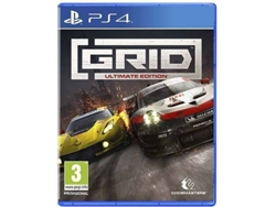 Preventa Juego PS4 Grid: Ultimate Edition (Carreras - M3)
