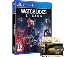 Preventa Juego PS4 Watch Dogs Legion (Acción/Aventura - M18)