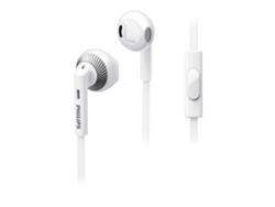 Auriculares PHILIPS She3205WH/00 Blanco